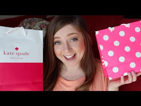 Shopping Haul Kate Spade Victoria s Secret & More