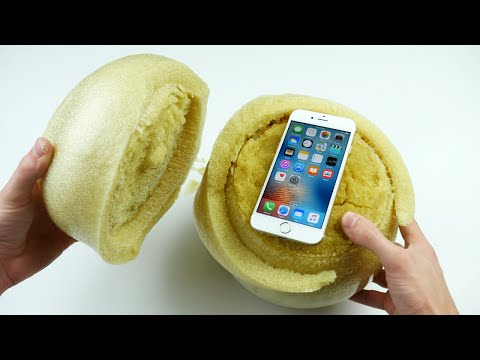 Don t Drop Your iPhone 6S in an Expanding Sponge Ball