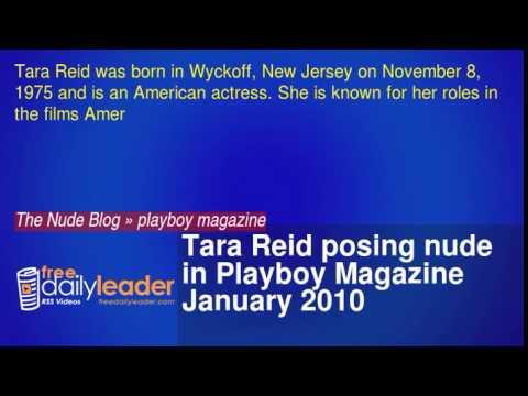 Tara Reid posing nude in Playboy Magazine January 2010