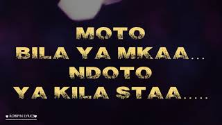 Mr  Blue ft Alikiba Mboga Saba Official Lyrics