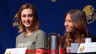 WYNNONA EARP AT DRAGON CON 2017  BEST  PHOTO MASHUP
