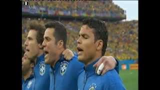 World Cup 2014 | Brazil vs Croatia | National Anthems