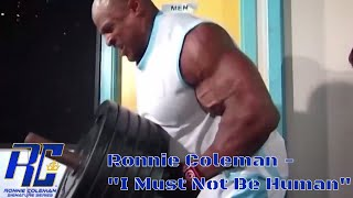 Ronnie Coleman | Back Training -
