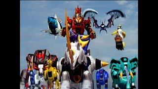 Power Rangers Jungle Fury - The Spirit of Kindness - Megazord Fight (Episode 28)