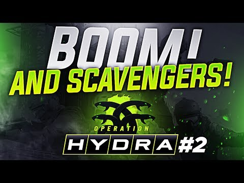 Operation Hydra Pt. 2 with mOE - BOOM AND SCAVENGERS!