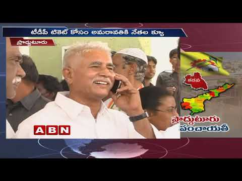 Elections heats Up Seats Allocation Among leader in Proddatur ABN Telugu