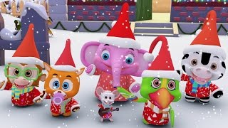 Kids Christmas Songs Collection | Kindergarten Nursery Rhymes and Baby Songs | Toddler Xmas Animals