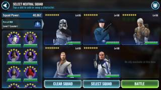 SWGoH - What is the best Rancor Team for Beginners? Help Choose!
