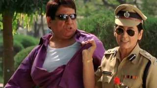MBPA - Comedy Scene - Om Puri - Archana Puran Singh - Janardhan And Madhav Arrested For Eveteasing