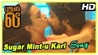 Bruce Lee Movie Scene | Sugar Mint-u Kari song | G V Prakash wins camera in game | Bala Saravanan