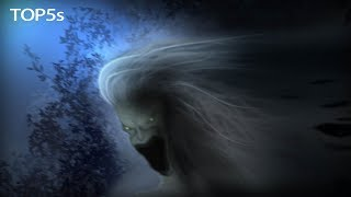 5 Nightmarish & Scary Mythical Creatures Throughout History...