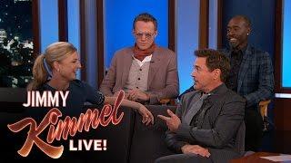 """Team Iron Man Talks """"Civil War"""""""