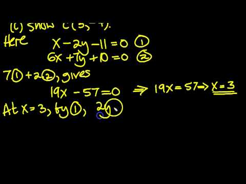 Mathematics C1 May 2011 Q1c