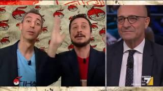 La copertina di Luca e Paolo: Il Movimento animalista di Berlusconi, secondo i sondaggi, ...