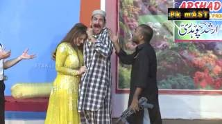 Best of Afreen Khan and ftekhar Thakur Stage Drama Full Comedy Clip
