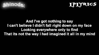 Linkin Park- Somewhere I Belong [ Lyrics on screen ] HD