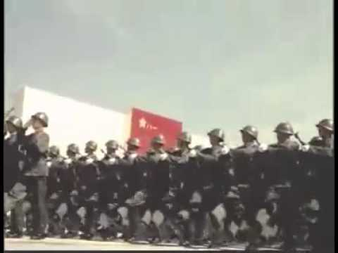 watch Chinese Military Parade 1981