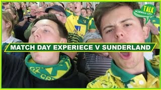 Sunderland 1-3 Norwich - Match Day Experience - EPIC AWAY DAY