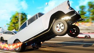 MIJN AUTO KAN WHEELIES! - Forza Horizon 4 (Nederlands)