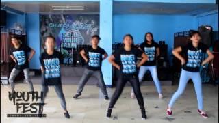 Te Amo by Israel & New Breed - Youth Fest Dance Craze