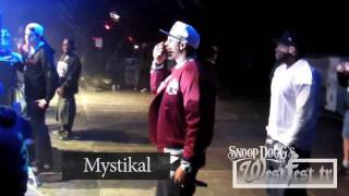 Snoop Dogg feat. Mystikal, Mr. Magic, KLC LIVE from New Orleans LA Voodoo Festival 10/29/2011