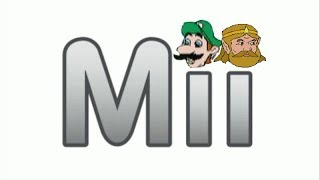 Mii Channel Music but every pause is a 2009 meme