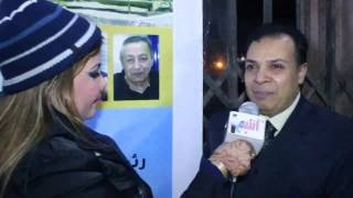 لقاء خاص لقناة لانتيم 24س مع المخرج ياسر حسانين في مهرجان اوسكار ايجبت في دورته الرابعة