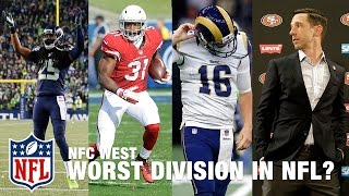 Is the NFC West the Weakest Division Heading Into the 2017 Season? | Around the NFL | NFL