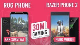 [30M Gaming #20] ROG Phone vs. Razer Phone 2: Đại chiến Gaming phone