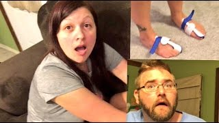 GRIM DESTROYS EXERCISE MACHINE! REACTS TO HEEL WIFES HORSE FEET!