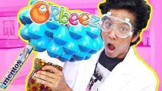 DIET COKE ORBEEZ EXPERIMENT!!!