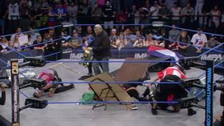 LAX vs. Decay A World Tag Team Title Street Fight   IMPACT April 27th, 2017