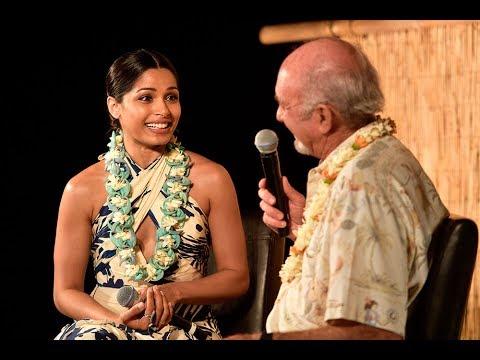 Freida Pinto In Conversation at the 2017 Maui Film Festival