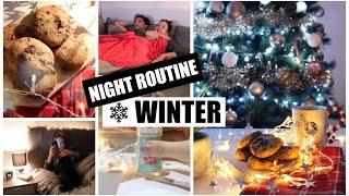 Night routine  -  WINTER EDITION ❄️