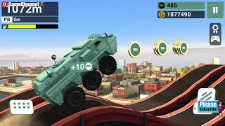 MMX Hill Dash / Monster Truck / 4x4 Racing Games / Android Gameplay Video #2