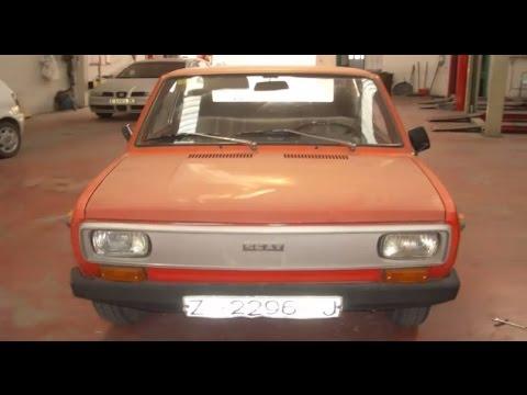 Restauración Seat 133L año 1977 Restauración Chapa y Pintura