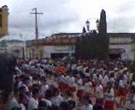 las margaritas chiapas desfile escuela rosario castellanos