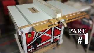 DIY table saw [fully adjustable] #1. Base and Height mechanism