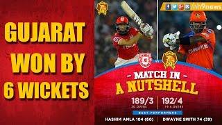 IPL 2017 : GL vs KXIP 2017 Highlights | Gujarat Lions Vs Kings XI Punjab Highlights | NH9 News