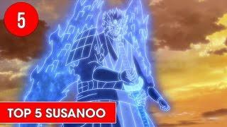 Top 5 Susanoo được yêu thích nhất trong Naruto - Shounen Action