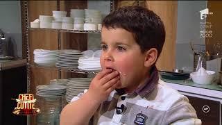 """""""Chefi la cuțite""""! la 4 ani lumatate Radu a făcut cel mai tare tiramisu! 14 mai"""