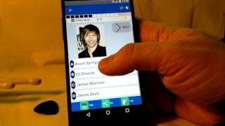 Quizmaster & Pop music (Android application)