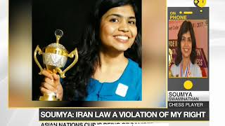 Indian Chess player pulls out of Asian Nations Cup, refuses to accept hijab law