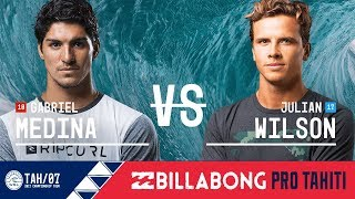 Gabriel Medina vs. Julian Wilson - FINAL - Billabong Pro Tahiti 2017