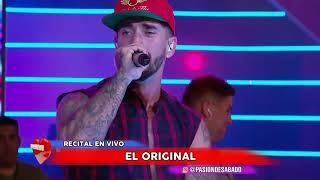 Roman El Original - Recital En Vivo en Pasion de Sabado 2/12/2017 PARTE 2