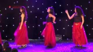 IRAN Performance CUD Global Day 2013 رقص ایرانی/ دانشگاه کانادایی دبی
