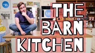 Barn Kitchen Walk Through