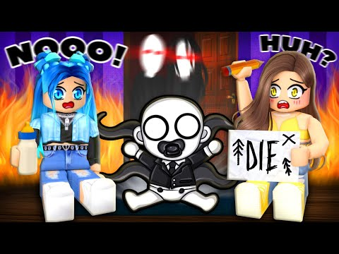Are you scared of this Roblox BABY