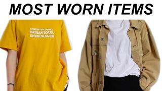 Most worn items // Januar 2017