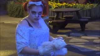 Thorpe Park Merlin Pass Fright Night Preview Vlog 2013 (Part 2  Night)